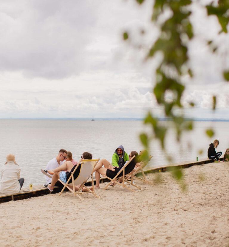 Molo Surf - Pole campingowe